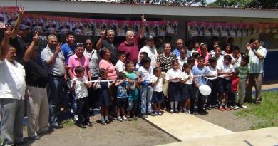 Inauguran mejoras en la escuela Nandayure-