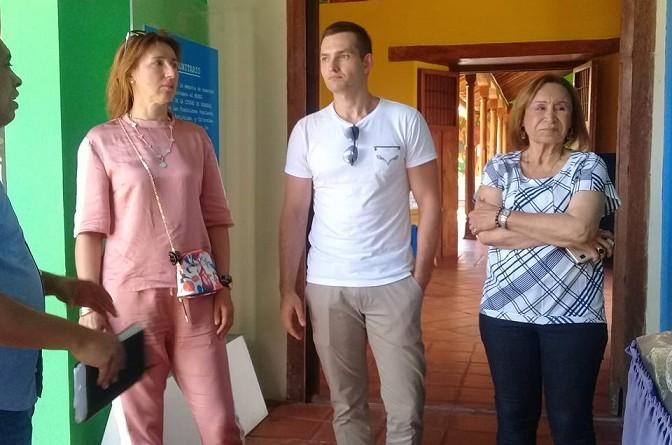 De visita en el Convento -