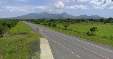 carretera nueva vista desde  mirador