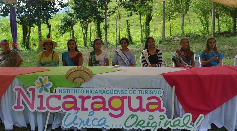 Reinas de los municipios de Matagalpa en la campaña Nicaragua Siempre Lina