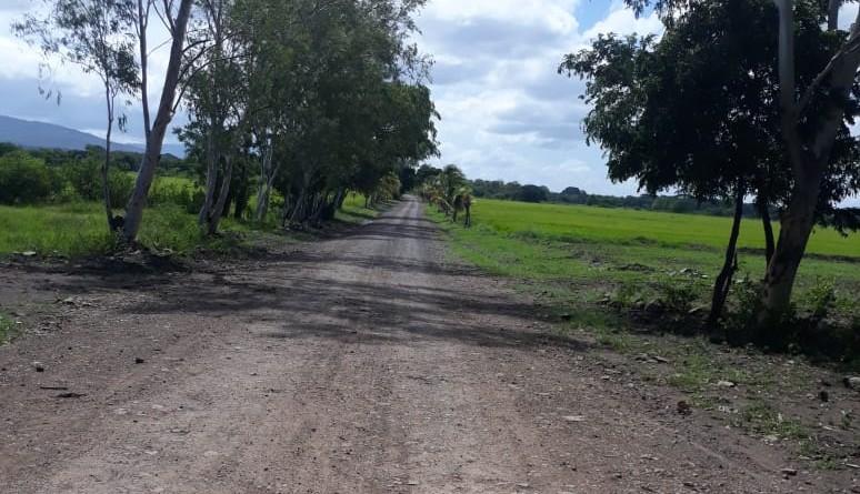 Ciudad Darío.Camino rehabilitado, tramo:Las Tunas-Sabana Verde,Palos Verdes y El Horno