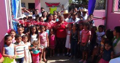 Familias del Valle de la Laguna inauguran Puesto de Salud