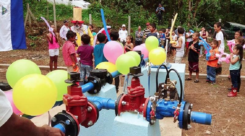 La comarca Calderón El Rama cuenta con agua potable