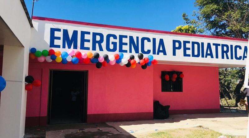 Nueva sala de emergencia pediátrica en hospital de Estelí