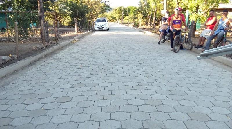 Calle en El Jicaral