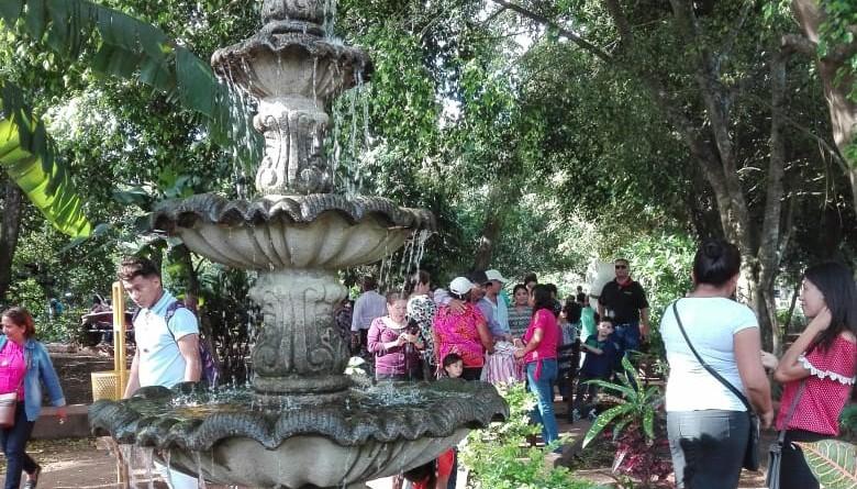 Parque natural.Jinotepe