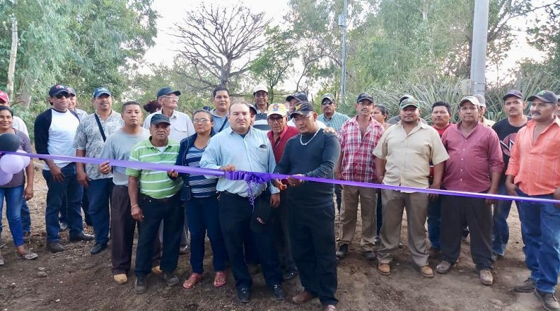 Chinandega: Inauguración de mejoramiento de camino en El Valle Los Morenos