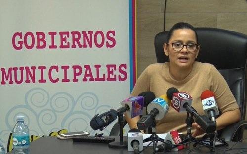 Compañera Sandra Castillo directora general de INIFOM
