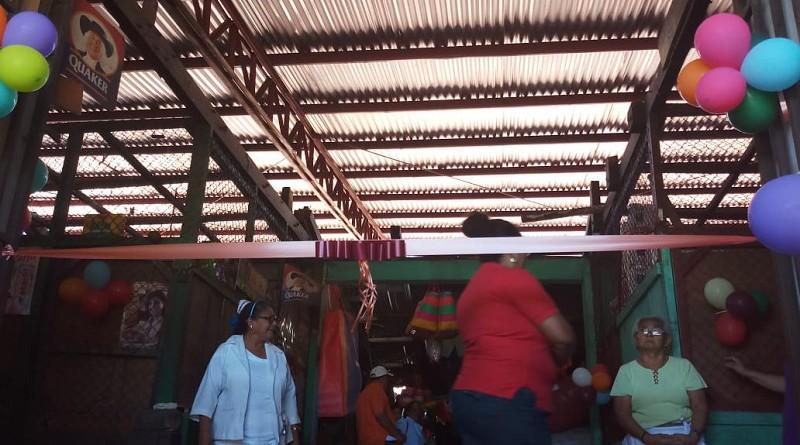 Mantenimiento mercado SObras mantenimiento mercado Santa Ana, Chinandega