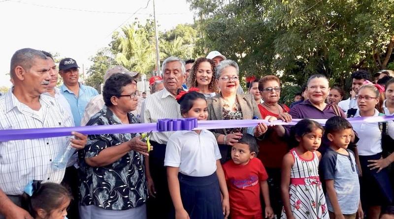 Inauguración Calle Divino Niño Chinandega