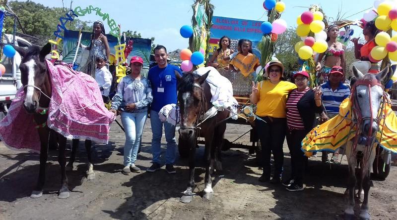Preparativos para el carnaval en Salinas Grandes, León