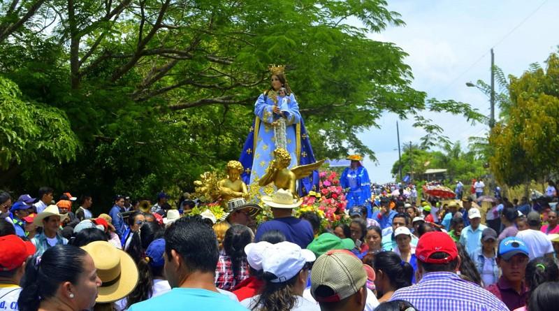 Procesión de la Virgen de La Luz, Patrona de La Libertad