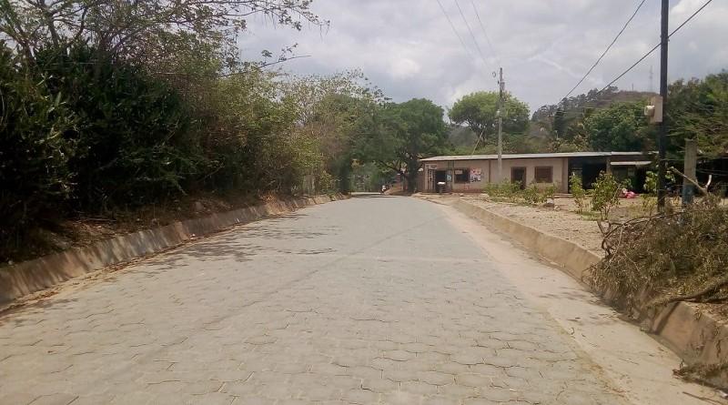 Totogalpa:Calle Enrique Bermúdez