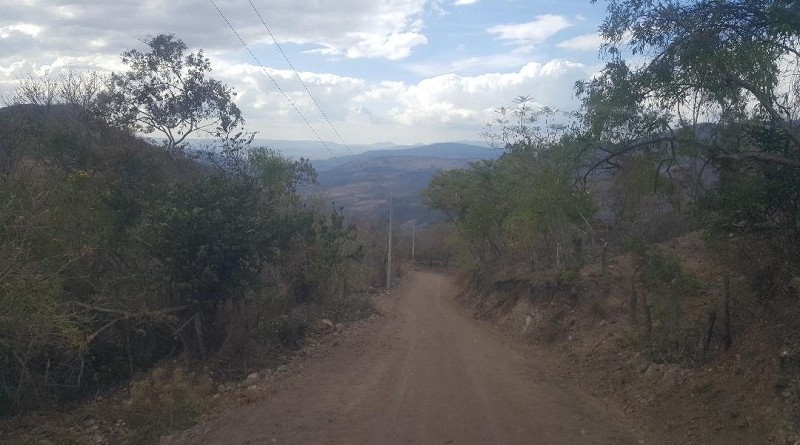 Jinotega:Trecho de camino El Horno-Pita El Horno