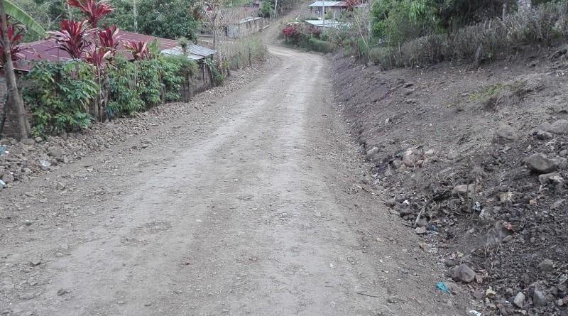 Trayecto de camino El Hatillo- Rincón Largo-Los Zeledón