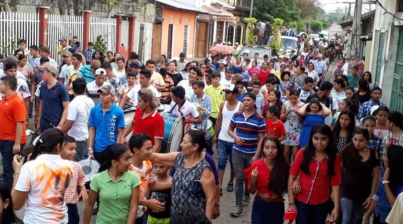 Otra imagen del carnaval de la producción en Acoyapa