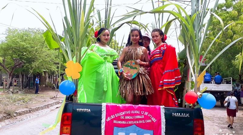 Santa Rosa del Peñón carnaval de la producción