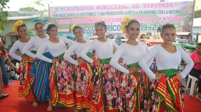Festival intermunicipal de danza cuya sede fue  Tipitapa