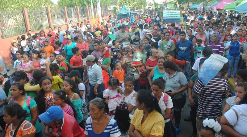 Festival intermunicipal de  las escuelas municipales de danza de Ticuantepe, Ciudad Sandino, San Rafael del Sur y Tipitapa