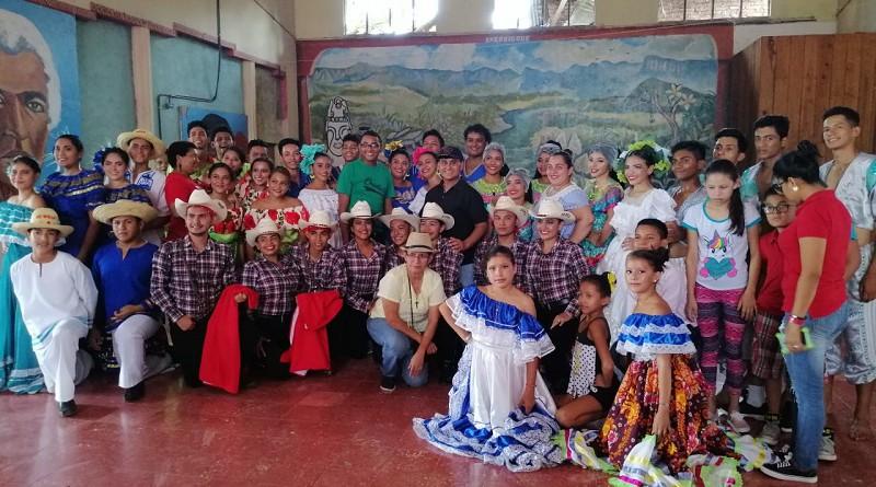 Juigalpa fue la sede de capacitación a Integrantes de escuelas municipales de danza en nuevas manifestaciones del folclore local.