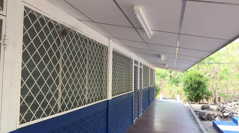 Escuela en comunidad Las Jaguas en San José de Cusmapa