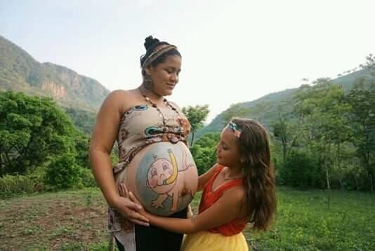 Fotografía participante en el Certamen Amor de Madre