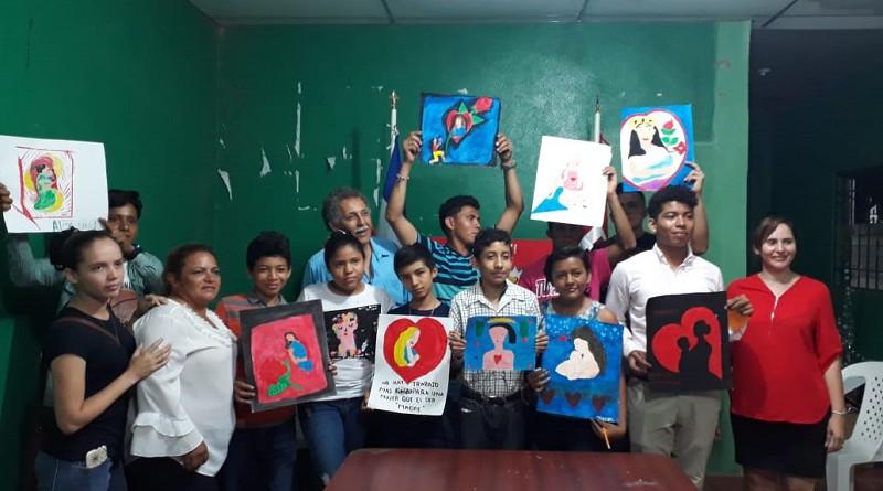 participantes del concurso en San Lorenzo
