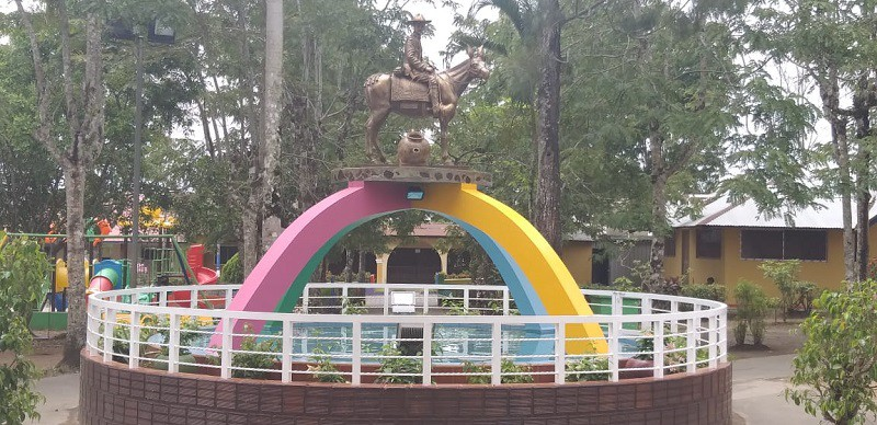 Monumento al  General Sandino, Héroe Nacional  en Santo Tomás