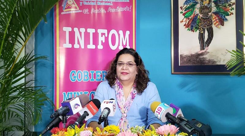Presidenta Ejecutiva de Inifom Guiomar Irías