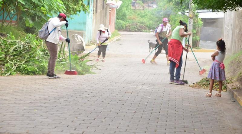 Más de 20 mil protagonistas asearon su entorno en 443 jornadas de limpieza en 279 barrios y comunidades.