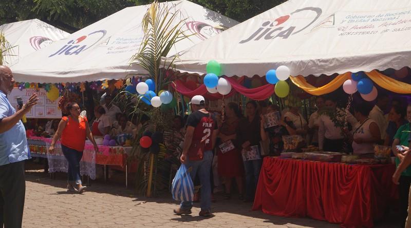 Feria Nutricional, promovida por el Ministerio de Salud, donde además se hizo el lanzamiento del Censo Nutricional.
