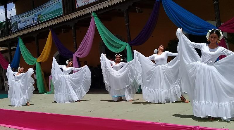 La danza se sumó al evento  de lanzamiento al certamen El Municipio Más Limpio