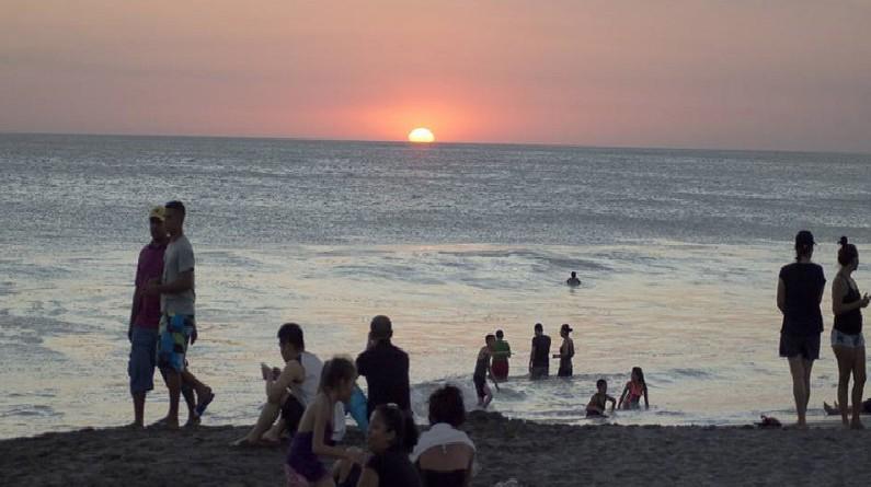 Los nagaroteños también cuidan sus costas y playas, en la foto Miramar, unos de sus patrimonios naturales