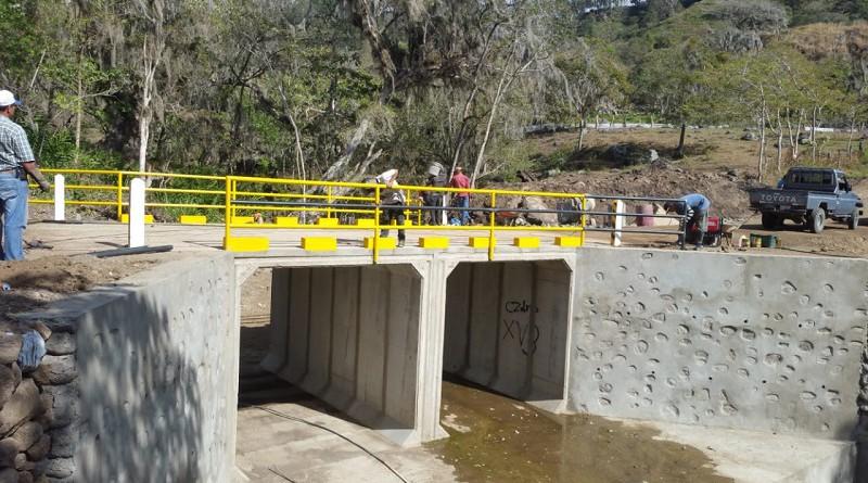 Puente en la comunidad Miraflor, Estelí