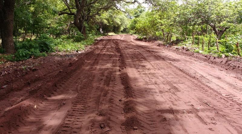 Camino a San Juan del Mombacho