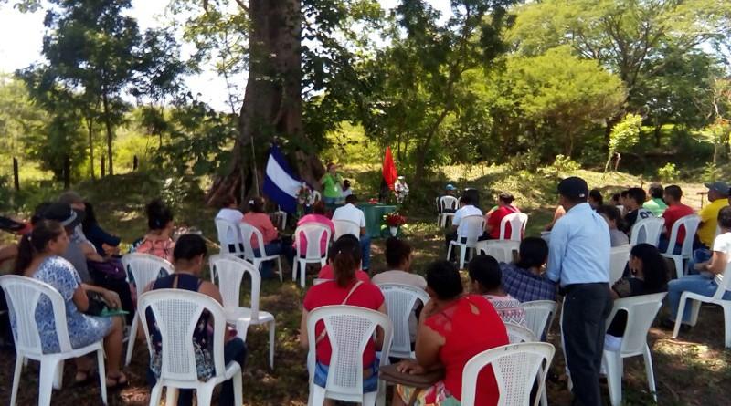 Achuapa mejoró el arboretum municipal