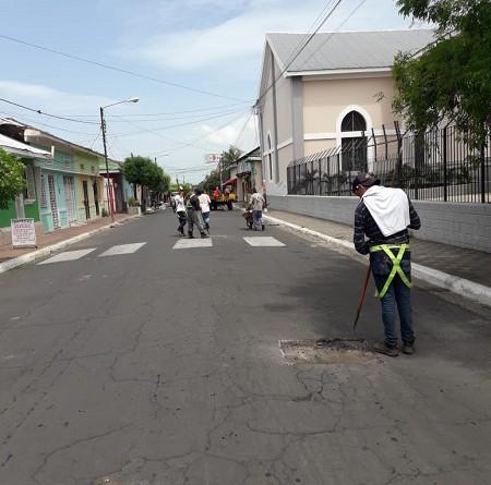 Chinandega mejoró  sesenta calles urbanas en los barrios Santa Ana, El Calvario,  San Agustín, El Rosario, Colonia Miriam Tinoco Reparto González y Guadalupe (foto) con una inversión de un millón 187 mil 655 córdobas.