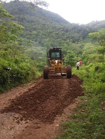 Dos kilómetros de caminos rurales productivos en el tramo Monte Sano – El Delirio en la comarca Las Pavas, jurisdicción de Villa Sandino mejoró la alcaldía con una inyección financiera de 601 mil 629 córdobas.