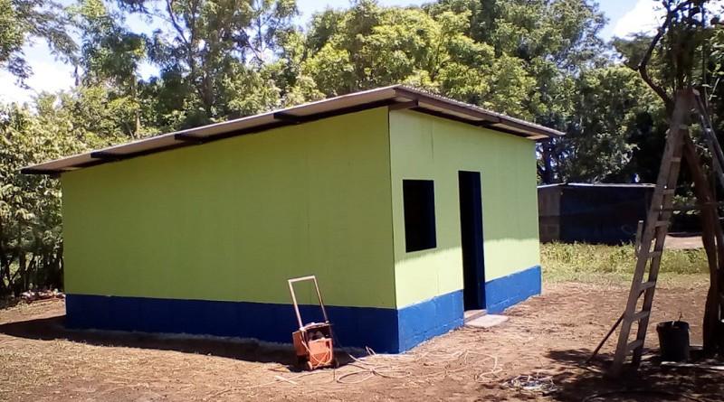 Una familia en situación de emergencia es la protagonista del apoyo del gobierno local consistente en una vivienda en la comunidad El Caimito de Villa El Carmen.