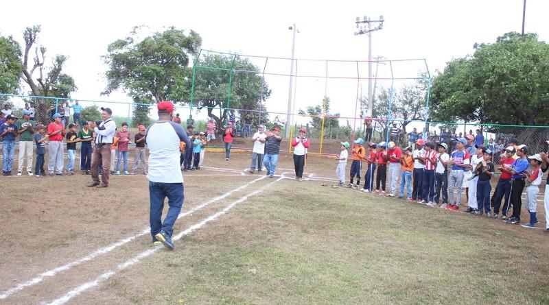 El campo deportivo de la comunidad San Luis fue mejorado