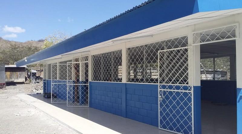 Tipitapa: El gobierno local mejoró infraestructura de la escuela de la comunidad El Chirimoyo
