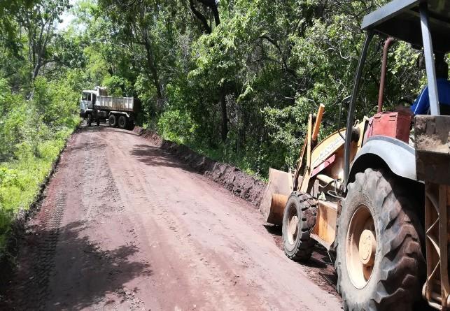En Guacucal donde se restauraron 400 metros lineales de vía.