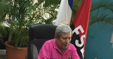 Doctor Guillermo González, ministro director de Sinapred