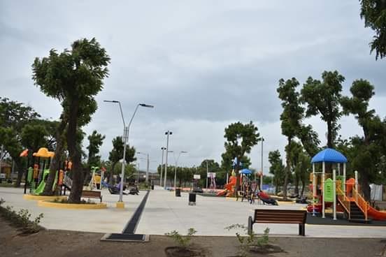Otro aspecto del parque de la familia y comunidad en Estelí