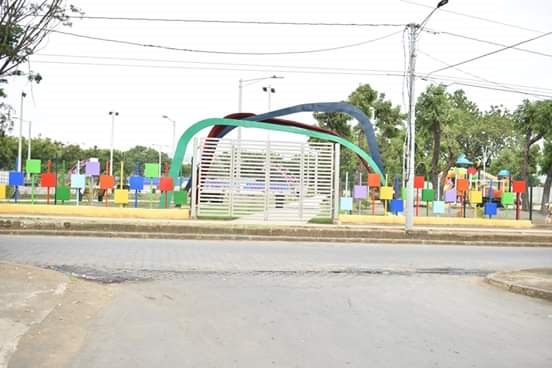 Ciudad Sandino estará inaugurando el parque y complejo infantil Kevin Coffin Reyes.
