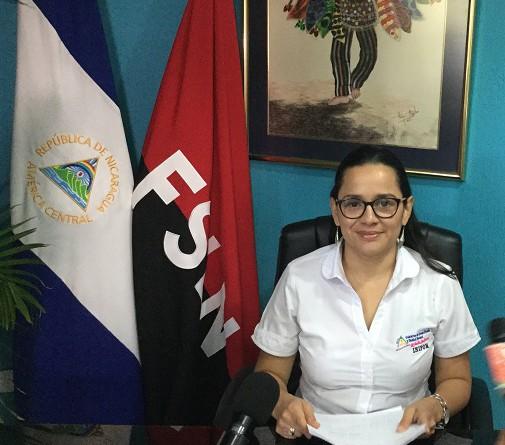 Directora General de Inifom, Sandra Castillo