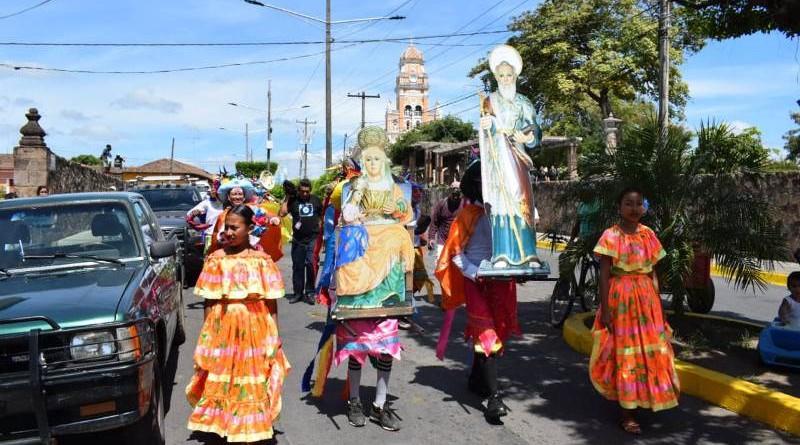 Santa Ana y San Joaquín, patronos de Nandaime