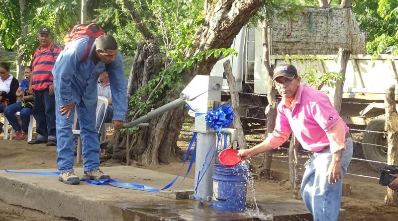 Un proyecto comunitario constituye el de Montecristo, Nagarote donde la inversión de dos millones 500 mil córdobas proveyó de agua a 66 personas.