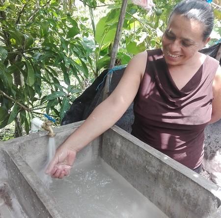 El proyecto de agua potable para uso de mil 675 personas en la comunidad de Quibuto, jurisdicción de Telpaneca costó once millones 436 mil 958 córdobas.