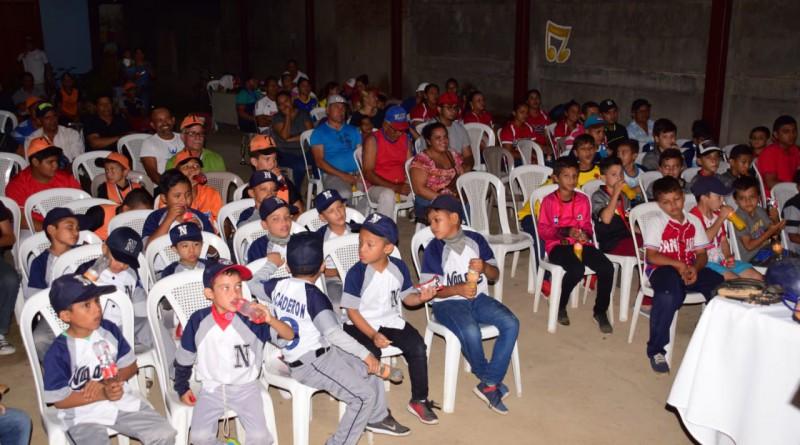 Participantes en la instalación del consejo municipal de deporte en Nagarote